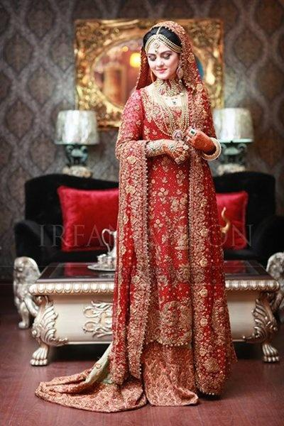In Pakistan What Is The Symbolization Of A Red Wedding Dress Quora