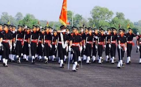 What is the life of officers who join the Indian army by the
