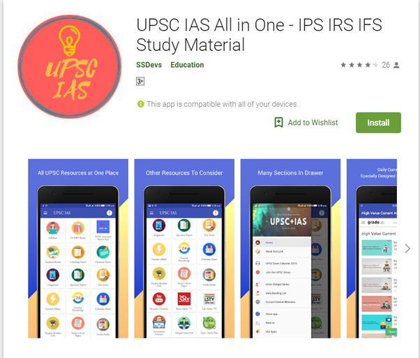 What is the best app for IAS aspirants? - Quora