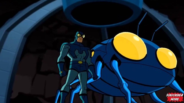 How does the Blue Beetle from Batman: The Brave and the ... - photo#22