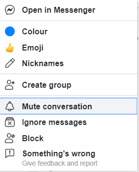Who can message me on messenger