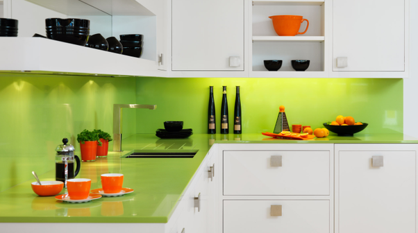 Greens Are Always Perfect In Kitchens. Green Is The Most Common Color In  Foods, And On The Planet, So This Color Will Really Help Yoursself And Your  Friends ...