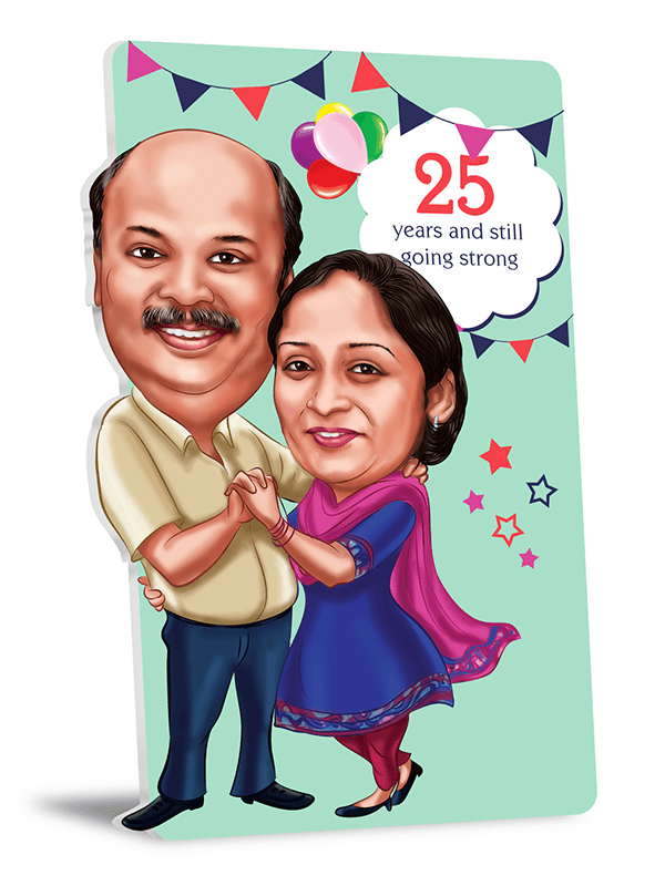 25th wedding anniversary gift ideas from children