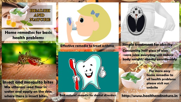 What home remedies have been around for a long time and
