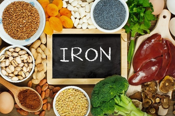 Makanan Yang Menghasilkan Sumber Zat Besi