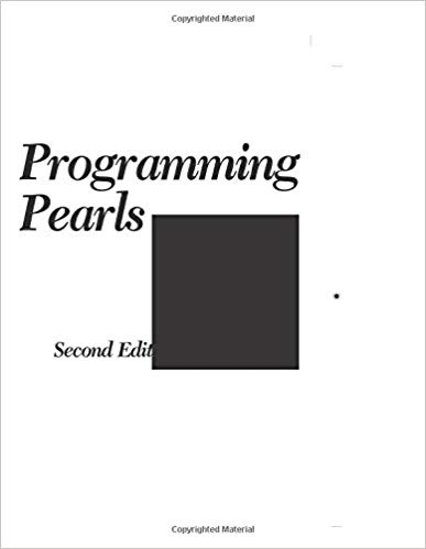 Pearls pdf programming