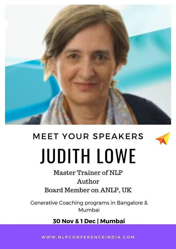 Who are all the speakers in Neuro Linguistic Programming ...
