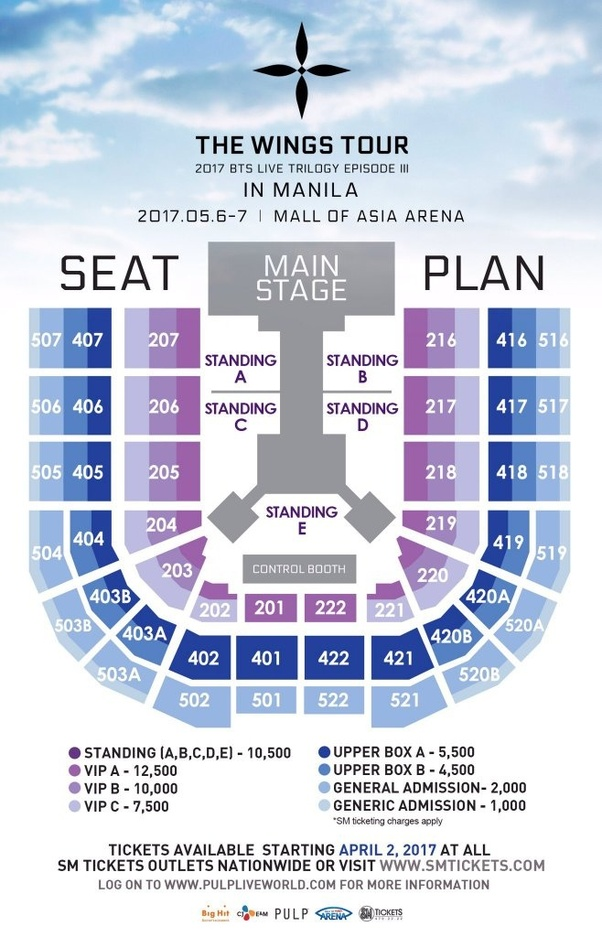 Bts Us Tour 2020.How Much Is The Ticket For The Bts Concert In Manila Quora