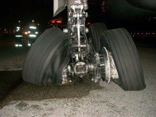 How Often To Rotate Tires >> Why don't airplane tires pop on landing? - Quora
