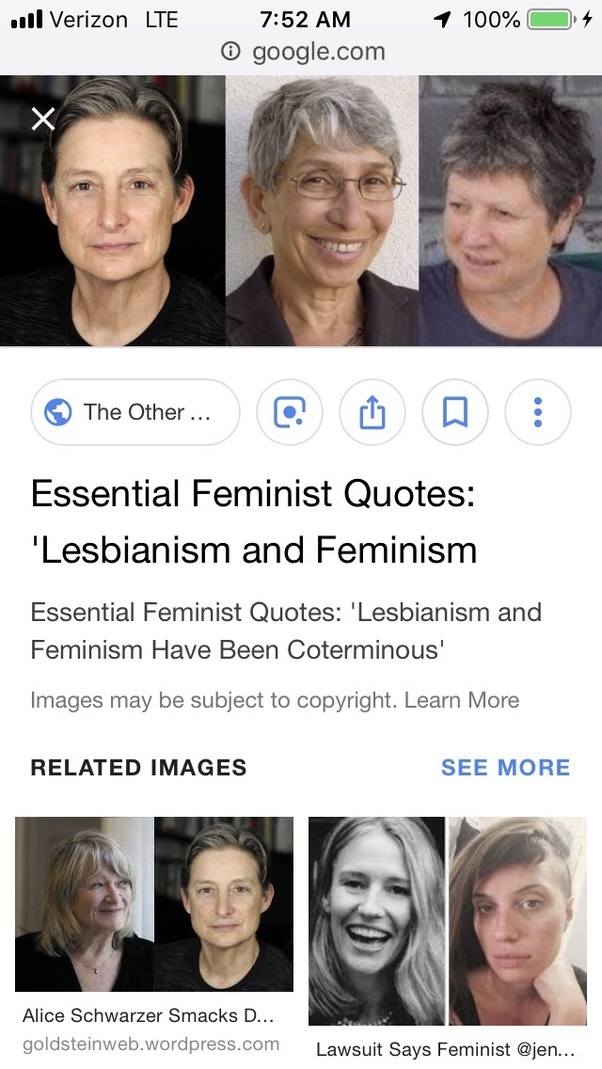 Feminist lesbian indoctrination