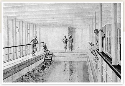 How big was the swimming pool on the titanic quora - Did the titanic have swimming pools ...