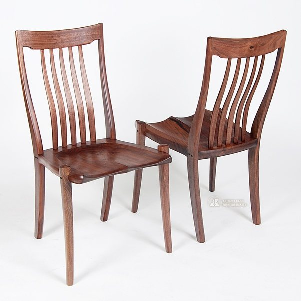Hard seats can be very comfortable if they have enough shape. & Is prolonged sitting on a hard wooden chair bad even with good ...