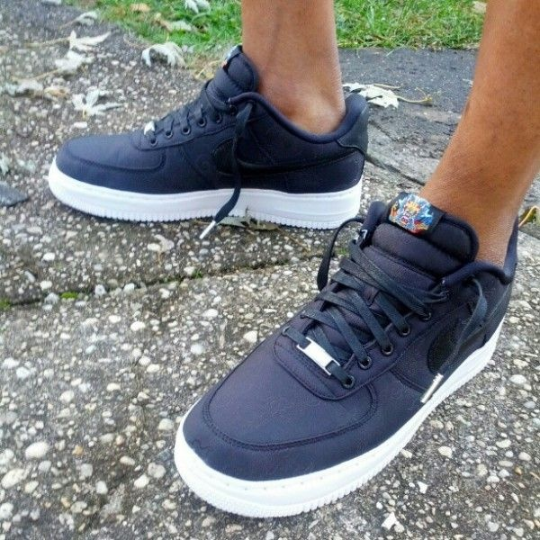... Example of barefoot Nike AF1 low in shorts this is how I wear them on  the  How To Spot Fake Nike Air Force 1 ... d33ab40f7