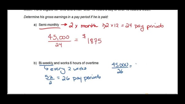 how to calculate my salary structure on a monthly basis