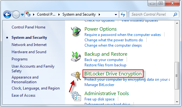 How to unlock a drive in Windows which is encrypted by