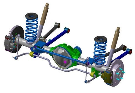 how to link multiple electric motors for all wheel drive