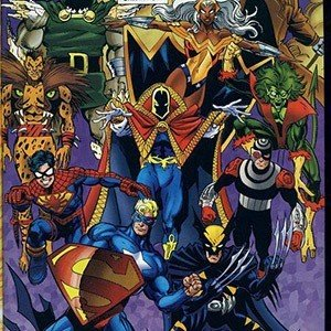 Marvel And DC Comics Created Amalgam Which Joined The Two Universes Together Resulting In Characters Such As Darkclaw Batman Wolverine