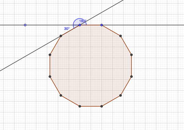 How to find the measurements of each exterior angle of a - Exterior angle of a regular polygon ...