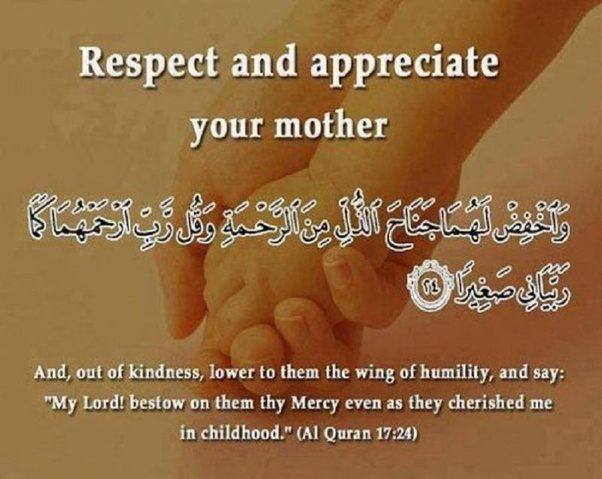 Does Islam speaks about mothers? - Quora