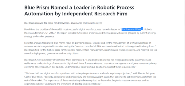 Where can I learn Blue Prism or automation anywhere in