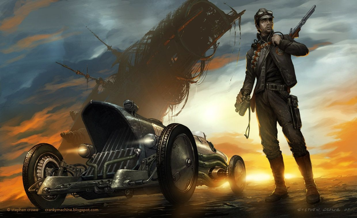 Which is cooler dieselpunk or steampunk? - Quora