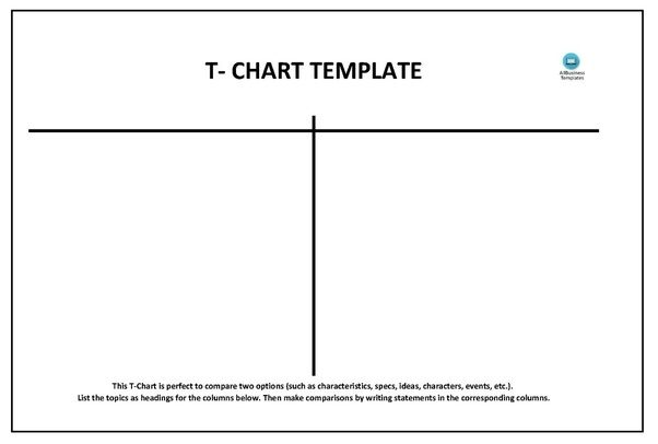 How To Create A T Chart In Microsoft Word  Quora