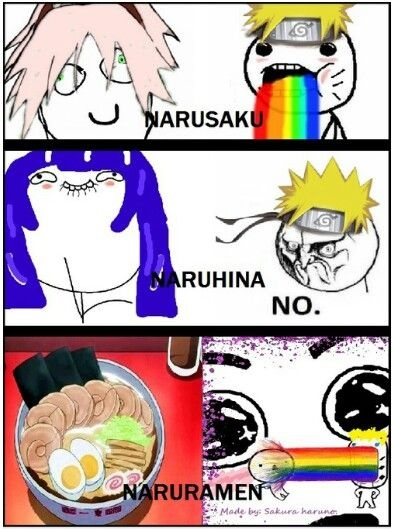 Would you have wanted if Naruto and Sakura had gotten together, or