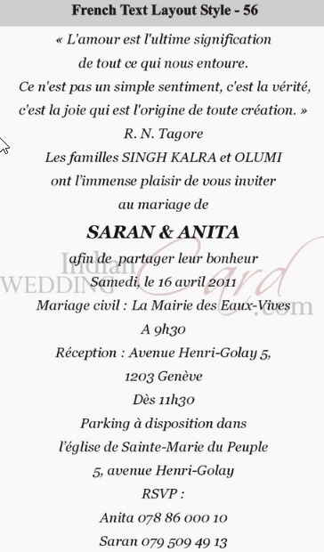 What Is The Meaning Of Rsvp Written On A Wedding Card Quora