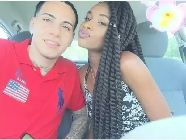 Latino dating a black girl