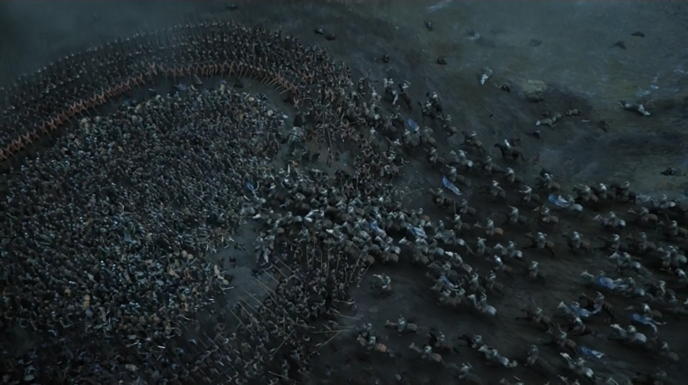what were the large scale battles in game of thrones quora