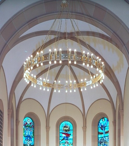 The church chandelier looks generally like below search google image with church chandeliers for various designs
