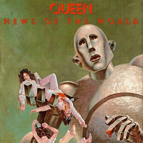 Queen News of the World The Cover Cove Quora