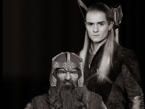 Why was Gimli allowed to sail with Legolas to the Undying