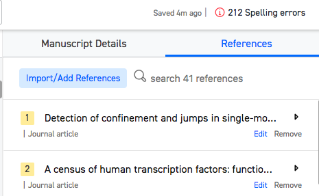 How to format my research paper to plos one quora b if you want to add references you can do so easily from the sidebar by clicking on importadd references you can either import your references in maxwellsz