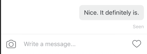 What Does The Instagram Direct Message Eye Icon Mean Quora