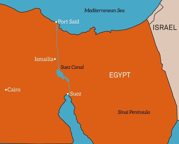 Which two countries are connected by the Suez c? - Quora on naqada map, beirut map, library of alexandria map, tokyo map, djibouti map, strait of hormuz map, pithom map, red sea map, ras gharib map, sinai map, jerusalem map, bombay map, assiut map, khartoum map, aden map, giza egypt map, middle east map, mogadishu map, elburz mountains map, bay of bengal map,