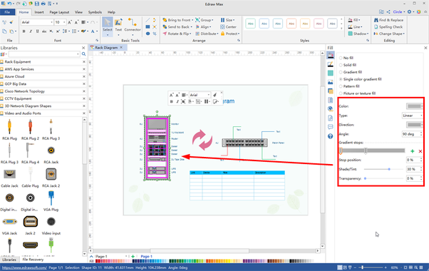How to make a Visio shape like the type below - Quora