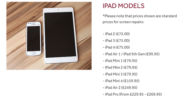 Timpsons Phone Repair Cost >> How Much Does It Cost To Fix A Cracked Ipad Ipad 2 Screen