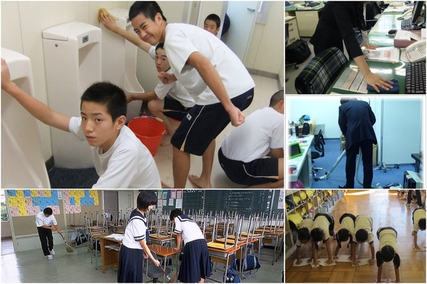 How do Japanese students feel about the cleaning their own school rooms and  toilets? - Quora