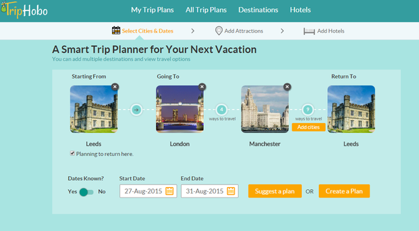 what is the best website or app to use for trip planning and why