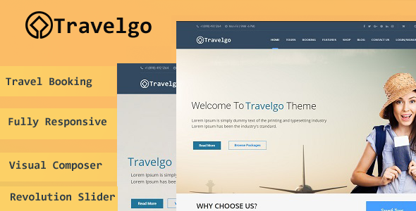 Which are the free wordpress business directory themes and plugins travelgo is a wordpress theme developed for travel agencies and tour operators of any size it offers a lot of flexibility and possibilities in setting up flashek Images