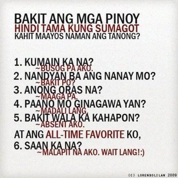 pinoy ang dating texty příliš mnoho datování ryb