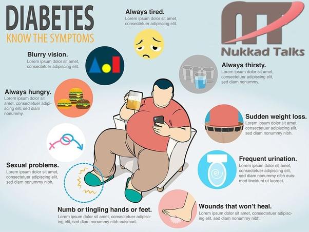 Anzeichen von diabetes im alter