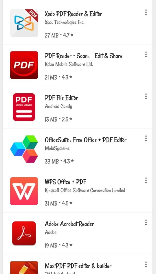 What are the ways to edit the pdf file in android? - Quora