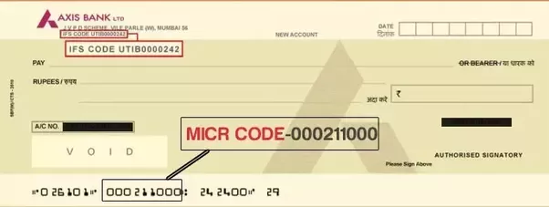 The First Three Digits In MICR Code Represent City That Is Which Bank Branch Located Next Stand For