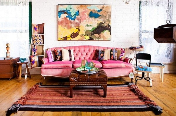 How to decorate a simple, eclectic and shabby chic living room - Quora