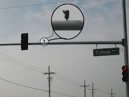 This Is An Infrared Sensor Used By Emergency Vehicles To Change The Lights  To Green For Them To Allow Them To Get To The Emergency Faster.