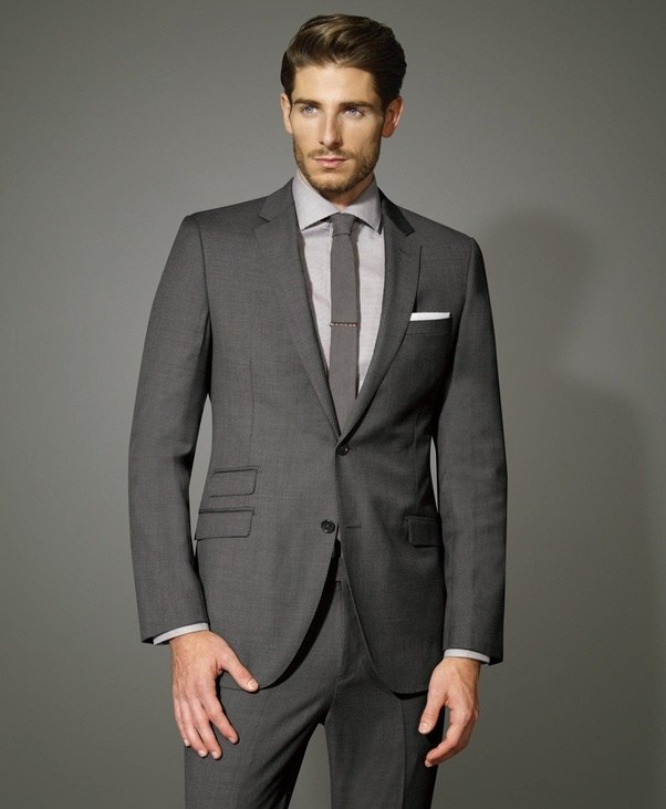 What shirt and tie to pair with charcoal suit?