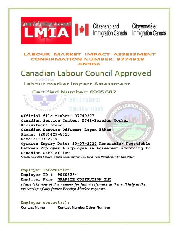 How to verify the LMIA of Canada - Quora