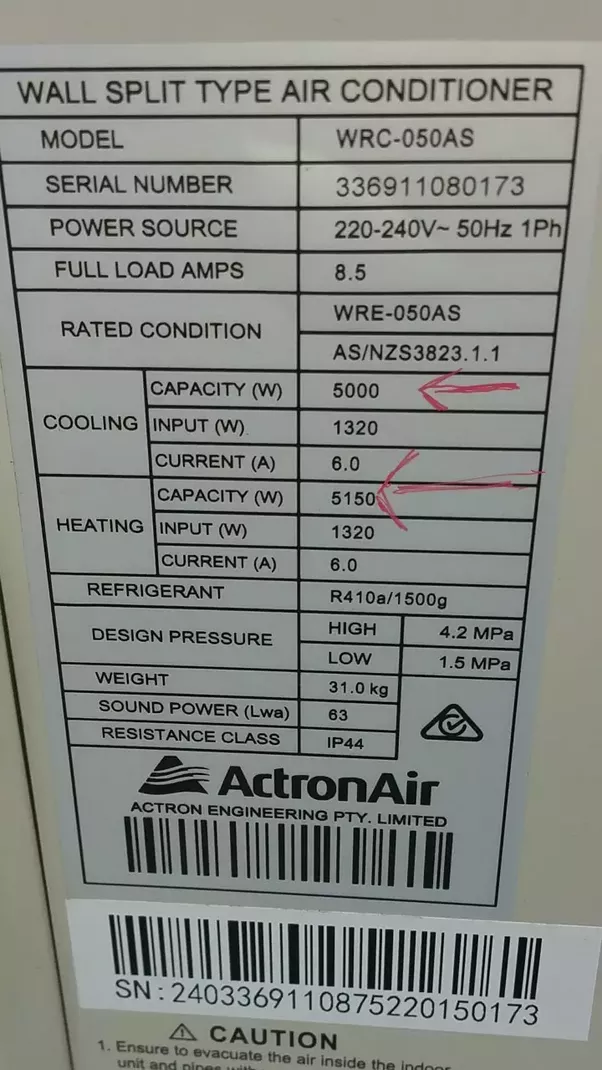 How To Find Out The Btu Of An Ac Quora